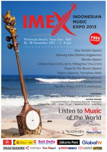 indonesian music expo 2013